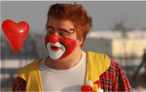 Clown Clownikuss bei einer Veranstaltung